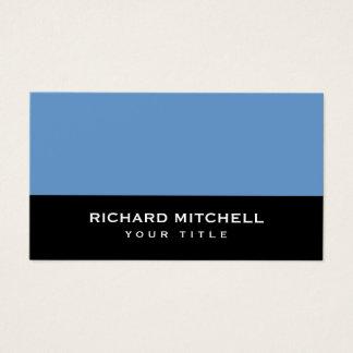 Blue-gray black modern generic personal profile business card