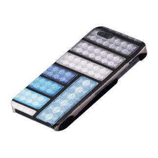 Blue Gray Eyeshadow Palette iPhone 5 Case