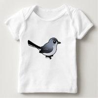 Birdorable Blue-gray Gnatcatcher Baby Fine Jersey T-Shirt
