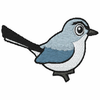 Blue-gray Gnatcatcher Embroidery