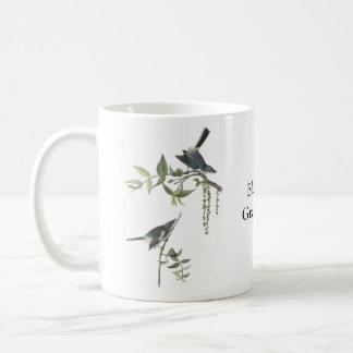 Blue-gray Gnatcatcher, John Audubon Coffee Mug