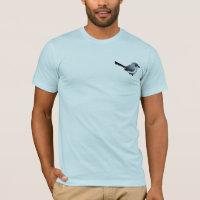 Birdorable Blue-gray Gnatcatcher Men's Basic American Apparel T-Shirt