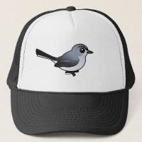 Birdorable Blue-gray Gnatcatcher Trucker Hat
