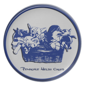 Blue & Gray - Package of Pembrokes Plate