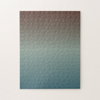Blue-Gray Red-Gray Gradient Jigsaw Puzzle