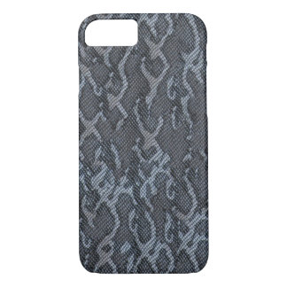 Blue Gray Snake Skin iPhone 8/7 Case