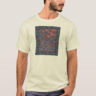 Blue Gray Splat T-Shirt