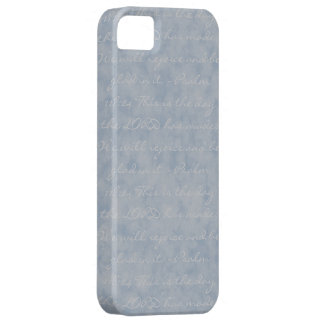 Blue/Gray Texture iPhone 5 Cover
