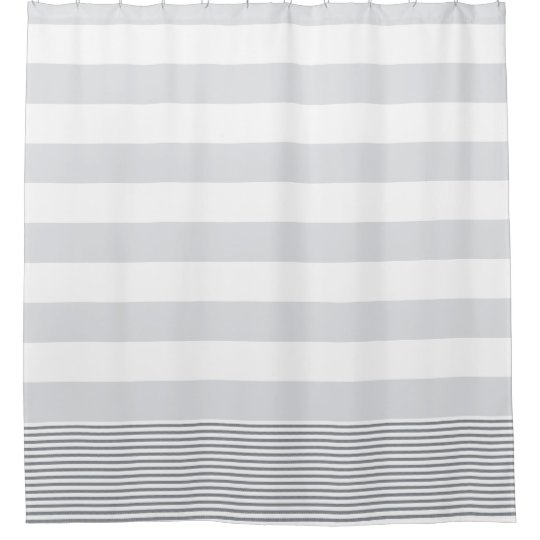 gray and white striped shower curtain. Blue Gray Turkish Stripe Shower Curtain  Zazzle com