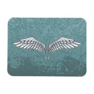 Blue-gray wings magnet