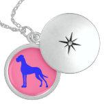 Blue Great Dane Custom Necklace