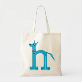 Blue Great Dane Tote Bag