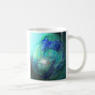 blue green 2 coffee mug