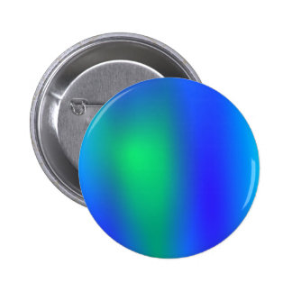 Blue Green Abstract Button