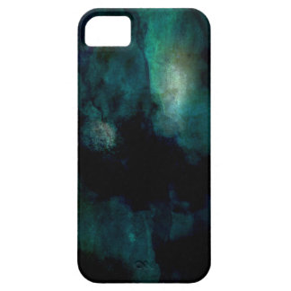Blue Green Abstract Grunge iPhone SE/5/5s Case
