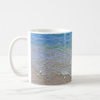 Blue Green Abstract Water Photograph Coffee Mug