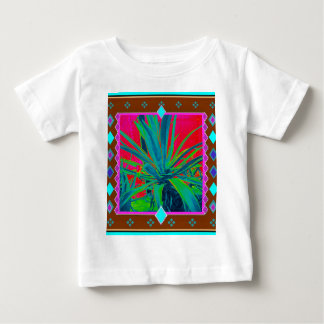 Blue-Green Agave Cacti Art Gifts by Sharles Baby T-Shirt