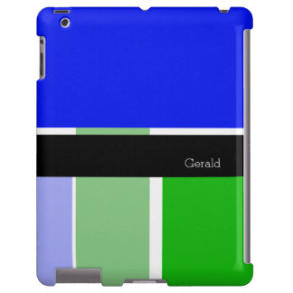 Blue, green and black color blocks