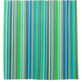 Blue Green Orange Shower Curtain Curtain Menzilperde Net