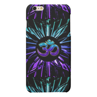 Blue Green and Purple Fractal Om iPhone 6 Case