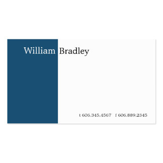 Blue-Green Box Double-Sided Standard Business Cards (Pack Of 100)
