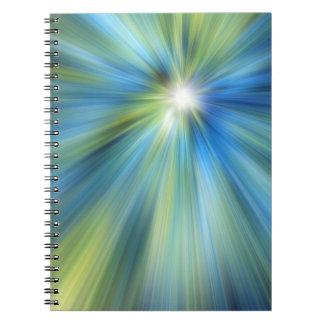 Blue-Green BURST Notebook