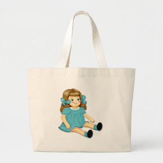 Blue Green Canvas Bags
