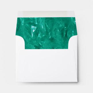 Blue Green Cellophane Envelope