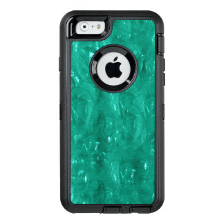 Blue green cellophane OtterBox defender iPhone case