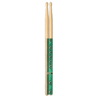 Blue Green Circuit Board - Electronics Photography Drumsticks