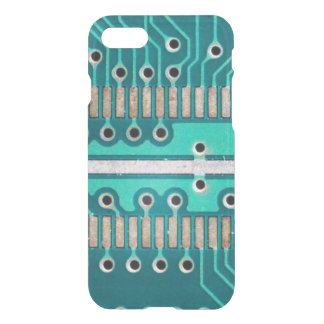 Blue Green Circuit Board - Electronics Photography iPhone 8/7 Case