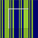 [ Thumbnail: Blue & Green Colored Lines/Stripes Pattern Fabric ]