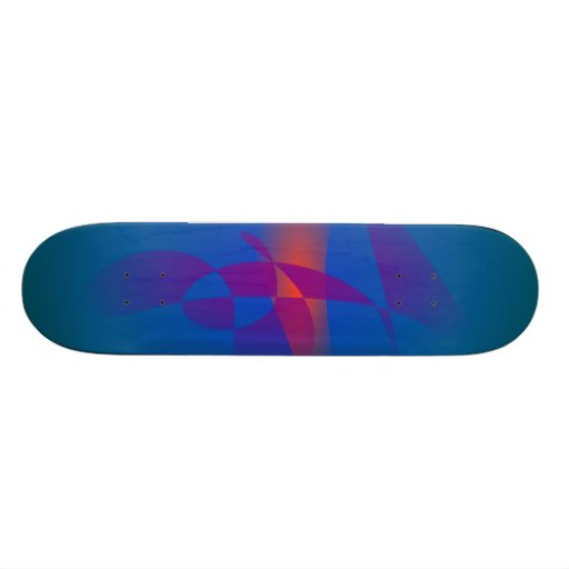 Blue Green Deep Sea Skateboards