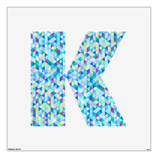 large letter wall decals wall stickers zazzle