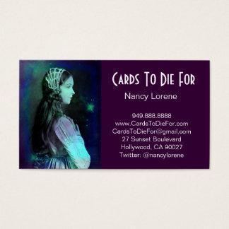 Blue Green Dream - Claudia Business Card