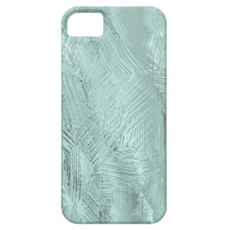 Blue Green Etched Glass Print iPhone 5 Case-Mate