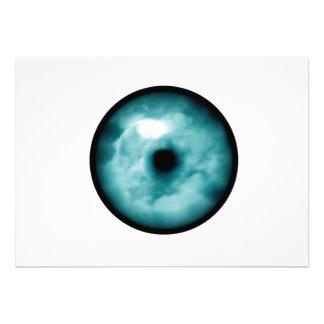 Blue Green eye cloud graphic aqua Announcements