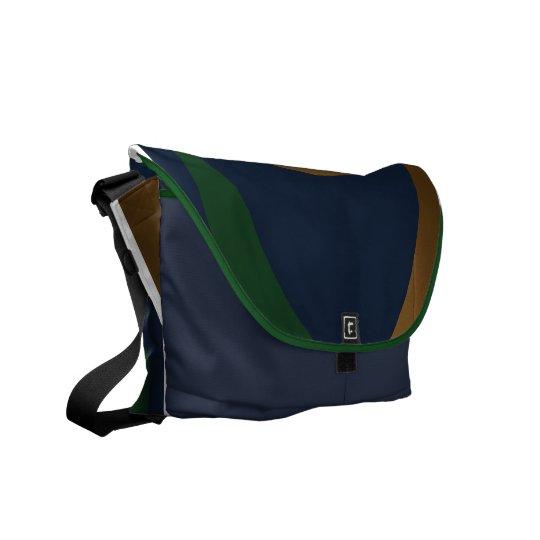 Blue Green Gold Boomrocket Bag