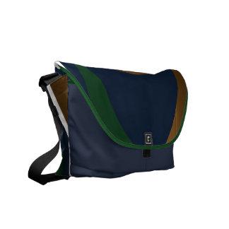 Blue Green Gold Boomrocket Bag Messenger Bags