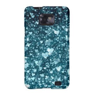 Blue-green hearts galaxy SII covers