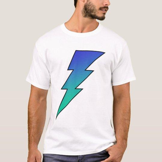 Blue Green Lightning Bolt! T-Shirt