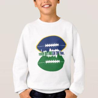 Blue & Green Love Sweatshirt
