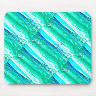blue/green maui wave Thunder_Cove Mouse Pad