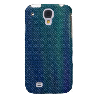 Blue Green Metallic look iPhone3G Samsung Galaxy S4 Covers