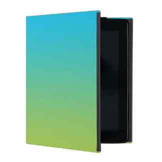 Blue & Green Ombre iPad Cover