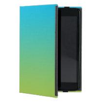 Blue & Green Ombre iPad Mini Case