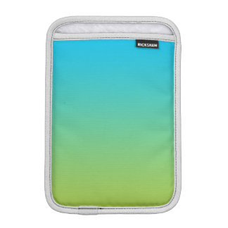Blue & Green Ombre Sleeve For iPad Mini