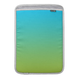 Blue & Green Ombre Sleeves For MacBook Air