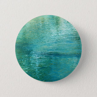 Blue Green Paradise Pinback Button