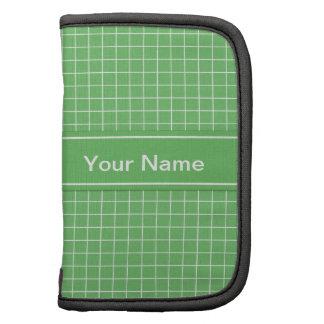Blue Green Pattern Sleeves Planners